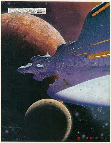 Moebius 1: Upon a Star (Graphic novel)