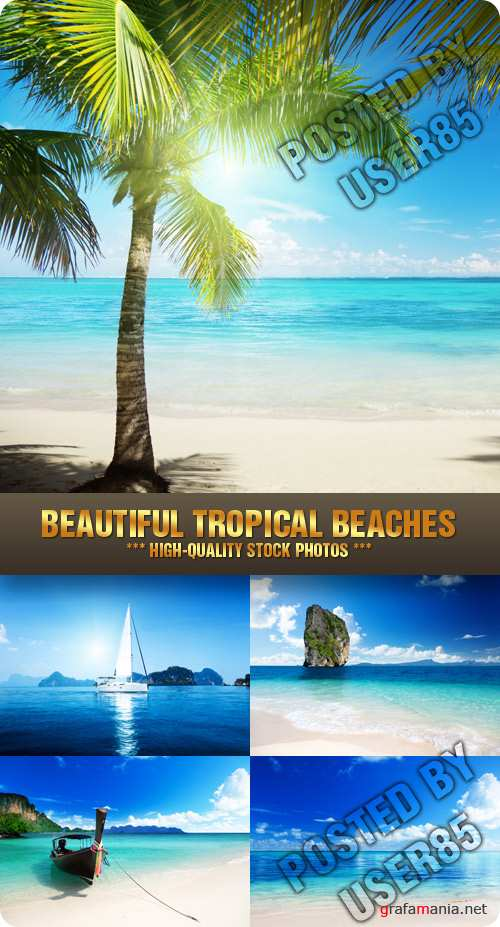 Stock Photo - Beautiful Tropical Beaches