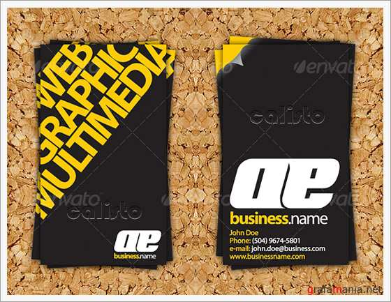 Impact Business Card - GraphicRiver