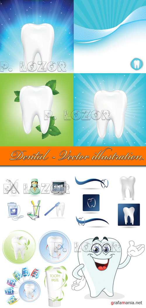 Dental - Vector illustration