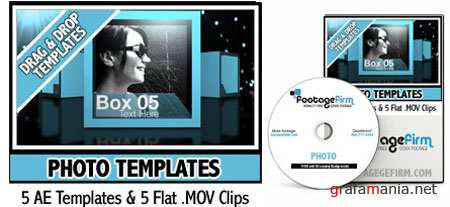 After Effect Project Footage Firm Photo Templates