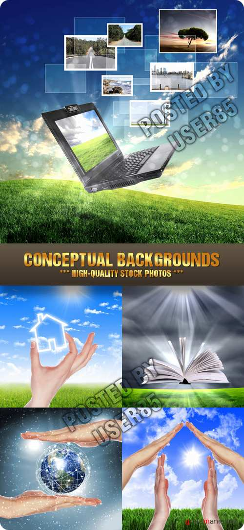 Stock Photo - Conceptual Backgrounds