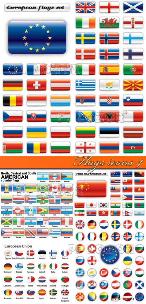 Flags icons 4