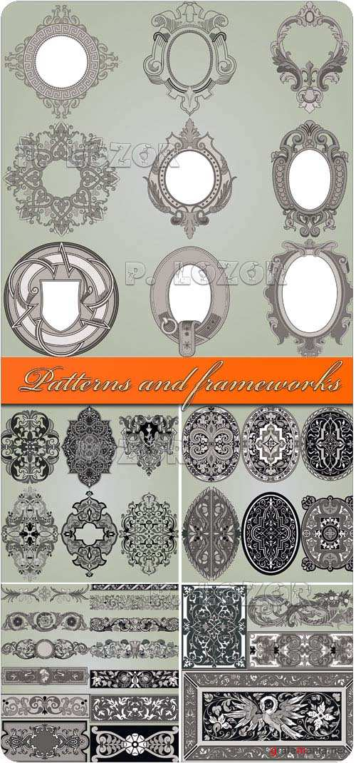 Patterns and frameworks vector