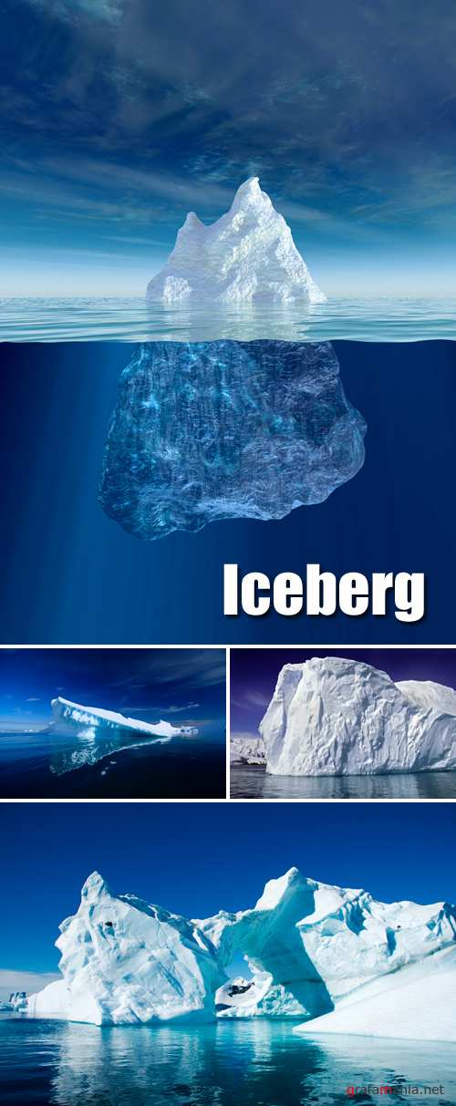 Stock Photo - Iceberg | Сток фото - айсберг