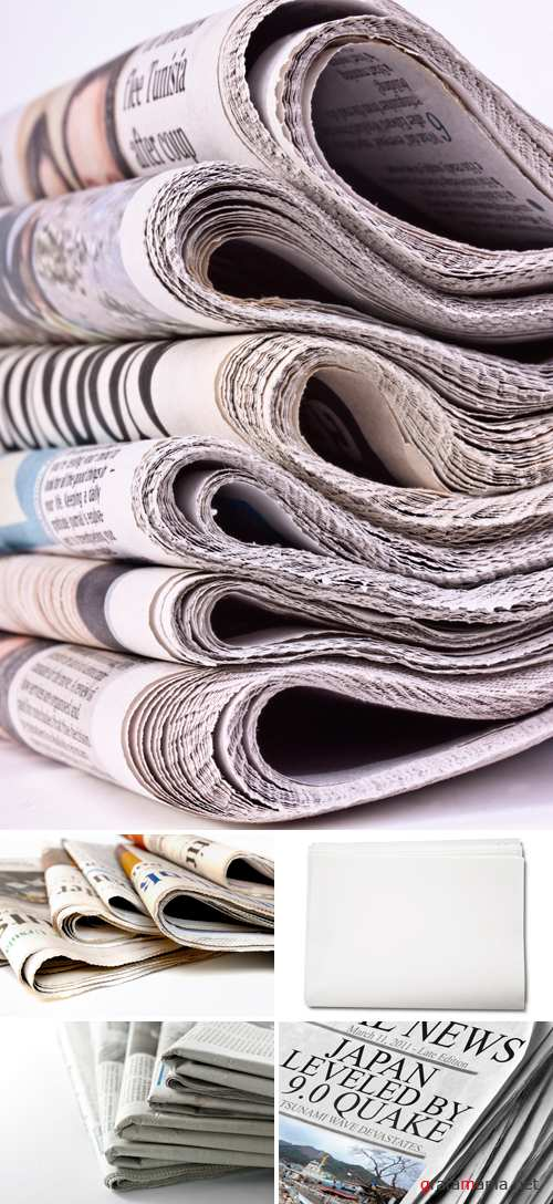 Stock Photo - Newspapers | Сток фото - газеты