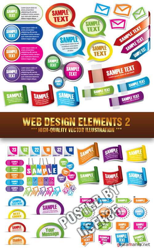 Stock Vector - Web Design Elements 2
