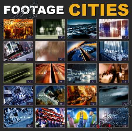 Footage Easymotion Cities 2CD