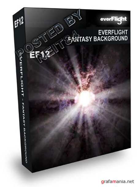 PSD EverFlight Fantasy Background EF12