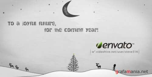 VideoHive Inkman presents Xmas & New year's Greetings 135117