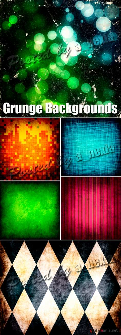 Stock Photo - Grunge Color Backgrounds 5