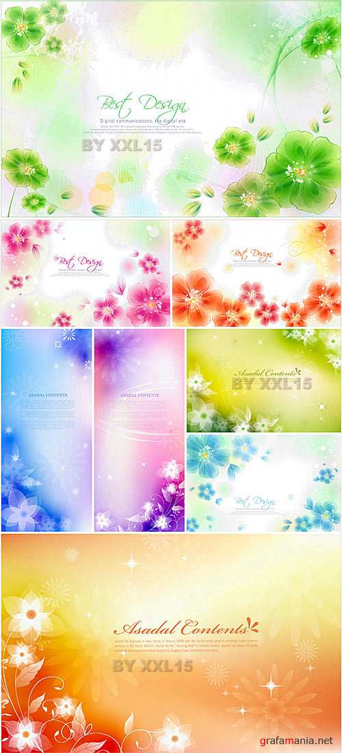 Flower backgrounds 11