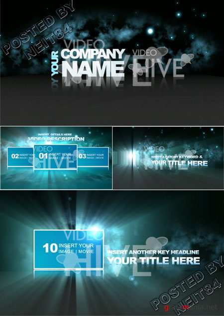 After Effect project Epic trailer template 54649
