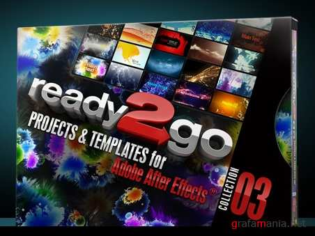 Ready 2 Go 3 (After Effects projects)