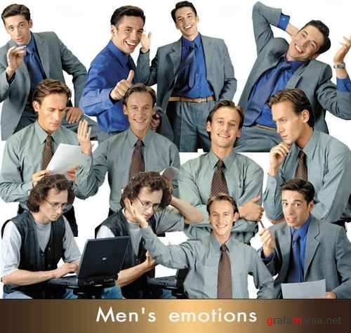 Stock Photos - Emotions Men