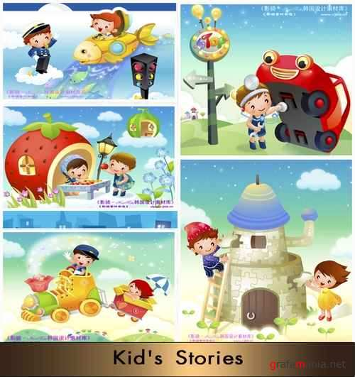 Stock Vector – Kid's Stories