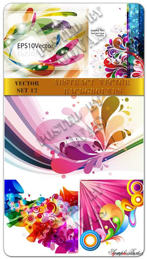 Abstract Vector Backgrounds 12