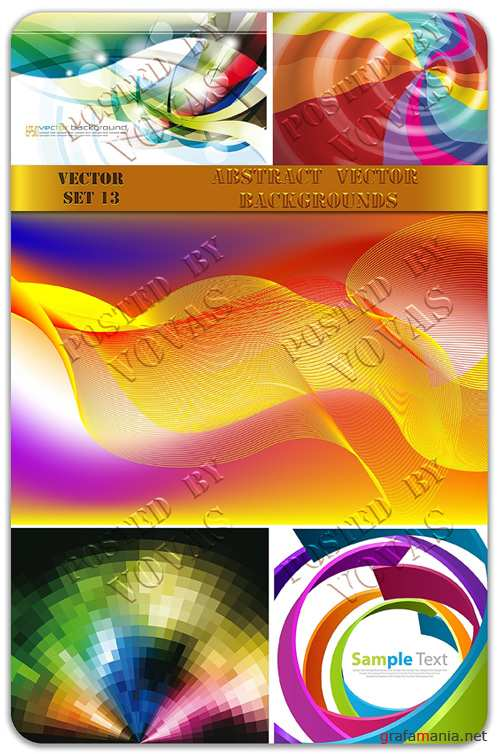 Abstract Vector Backgrounds 13