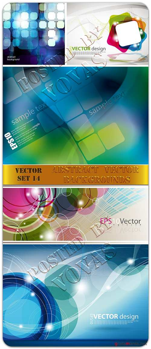 Abstract Vector Backgrounds 14