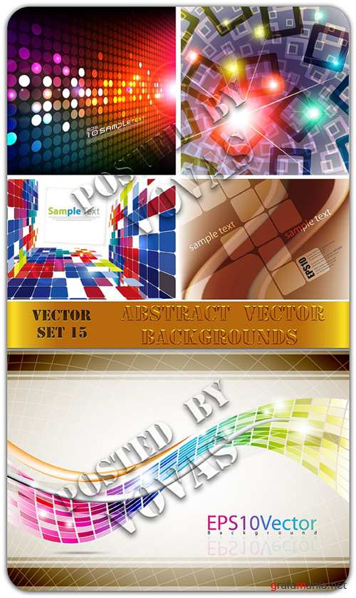 Abstract Vector Backgrounds 15
