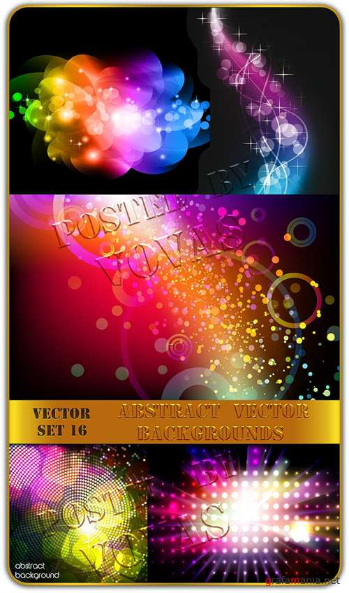 Abstract Vector Backgrounds 16