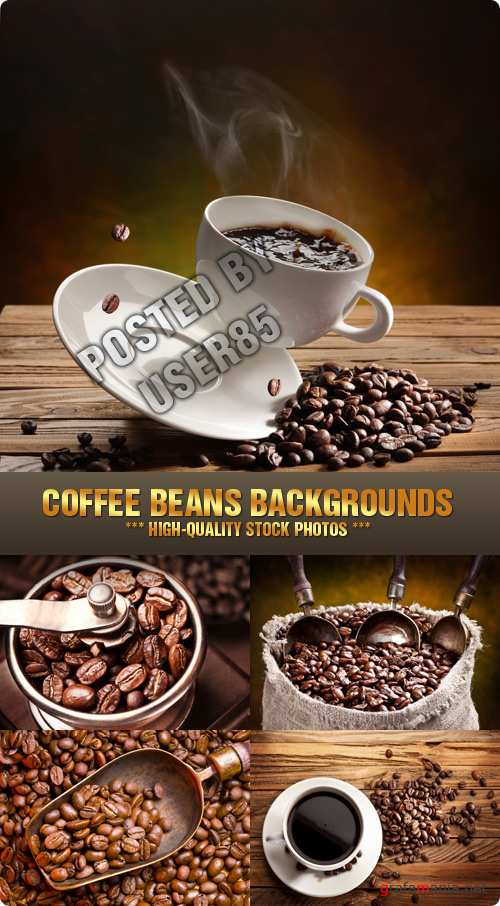 Stock Photo - Coffee Beans Backgrounds