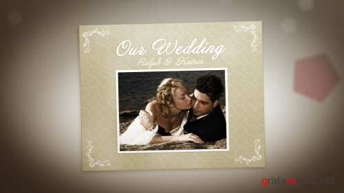 After Effects Project - Wedding Album