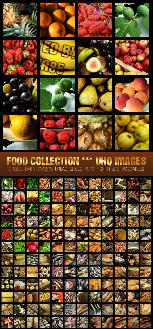Stock Photo - Food Collection