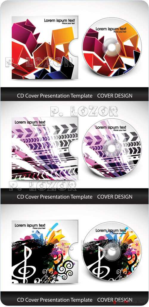 CD cover template vol.9