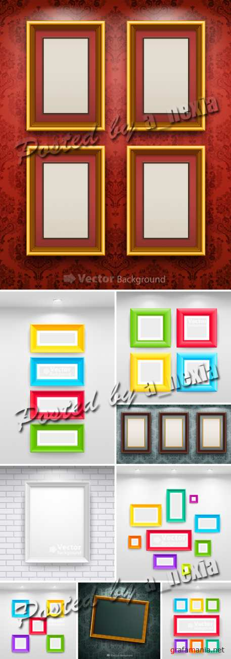 Empty Frames Vector Collection
