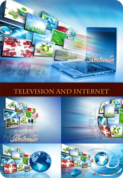 Television and Internet - Stock Photos