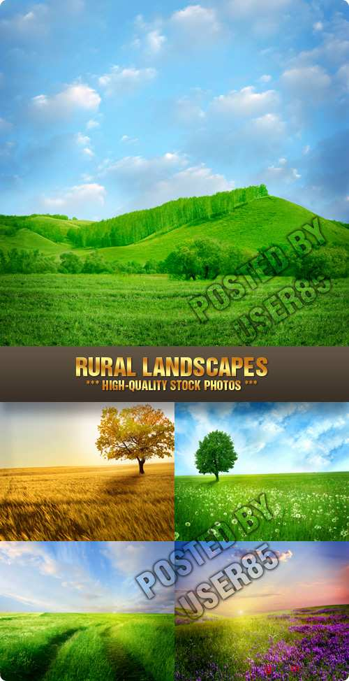 Stock Photo - Rural Landscapes