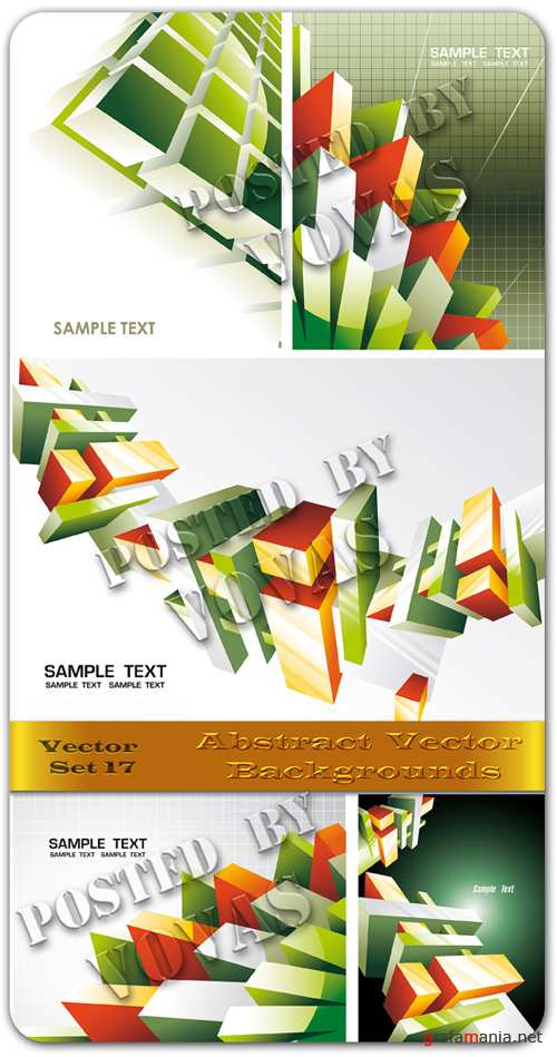 Abstract Vector Backgrounds 17