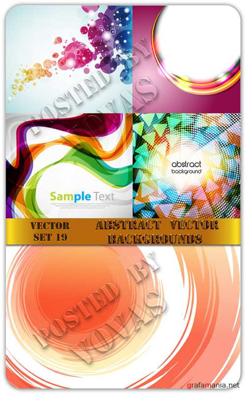 Abstract Vector Backgrounds 19