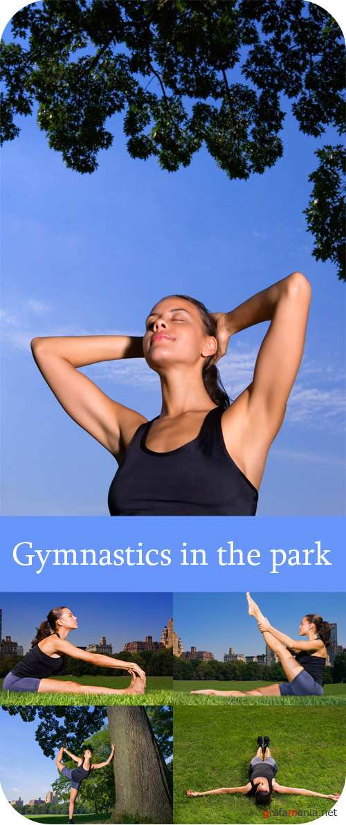 Gymnastics in the park