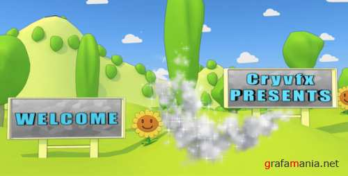 VideoHive Cartoon Park 3D Animation 129857