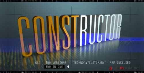 VideoHive CONSTRUCTOR 160170