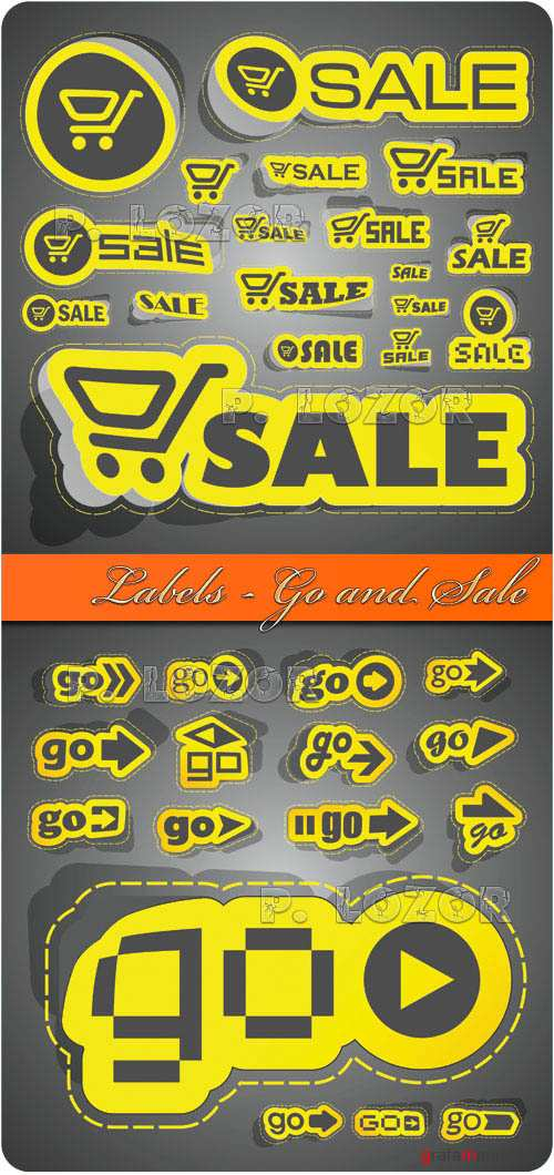 Labels - Go and Sale