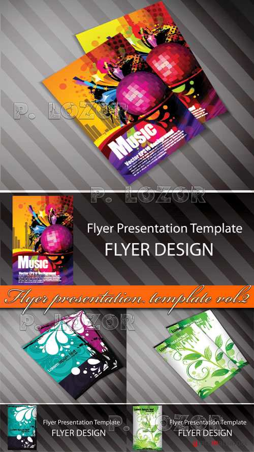 Flyer presentation template vol.2