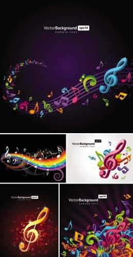 Musical Elements Backgrounds