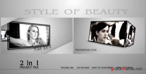VideoHive Style Of Beauty 155461