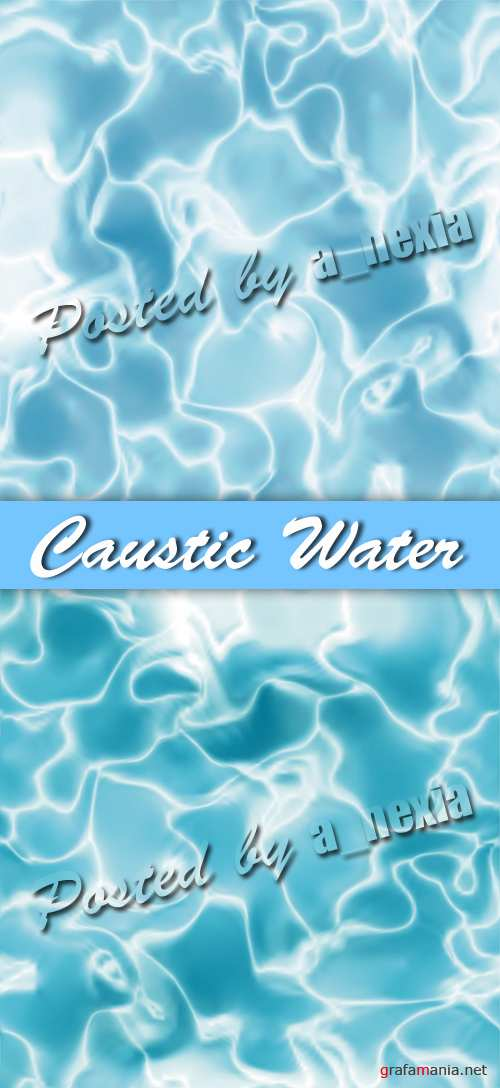 Caustic Water Backgrounds Vector
