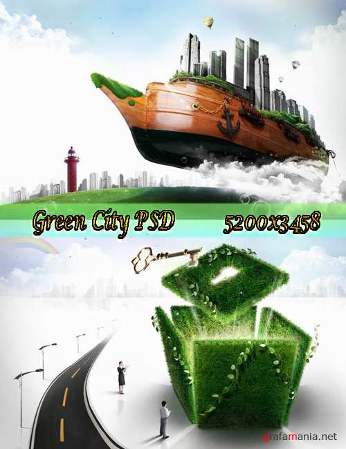 Green City psd