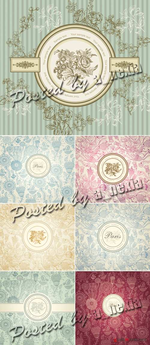 Classical Wall Paper Vector
