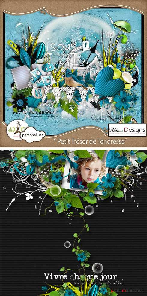 Scrap - Petit tresor de tendresse