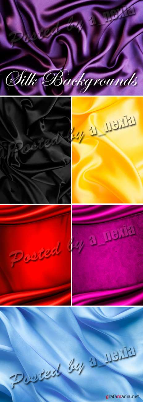 Stock Photo - Silk & Satin Backgrounds 2