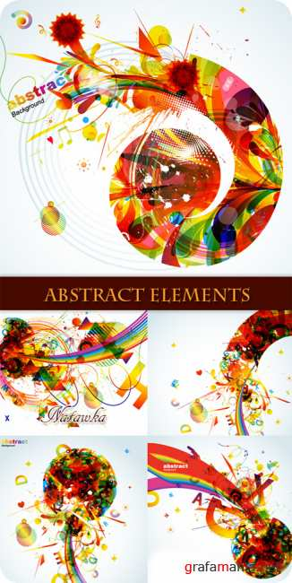 Abstract elements - Stock Vectors