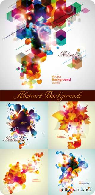 Abstract Backgrounds - Stock Vector