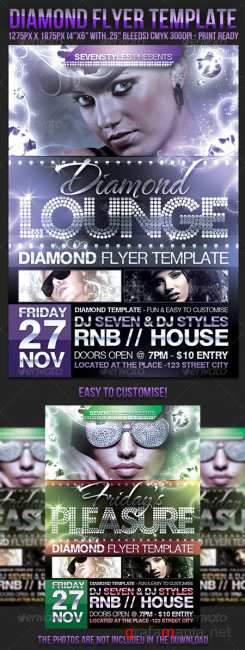 Graphicriver Diamond Flyer Template
