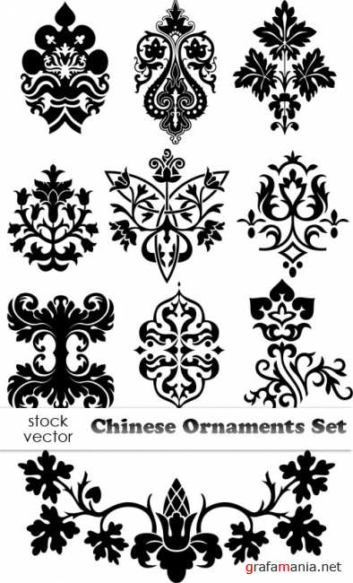 ��������� ������� - Chinese Ornaments Set